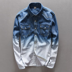 DENIM GRADIENT SHIRT