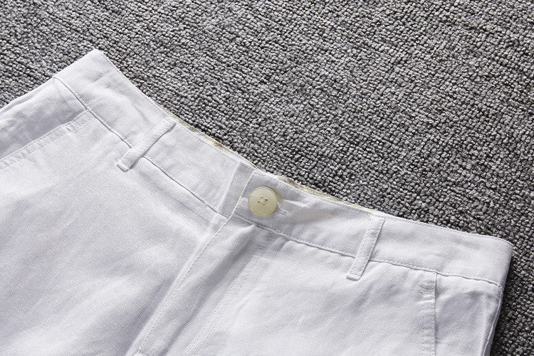COTTON LINEN SHORTS (5 colors)