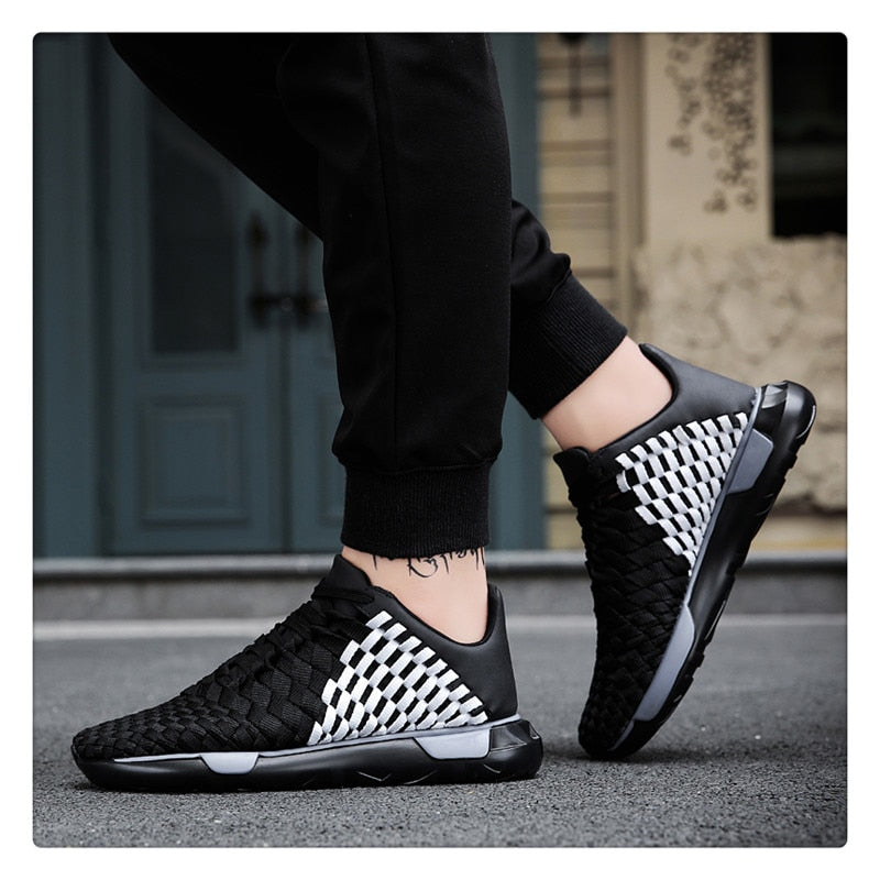 FASHION WICKER SNEAKERS (2 colors)