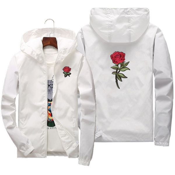 ROSES WINDBREAKER JACKET (6 colors)