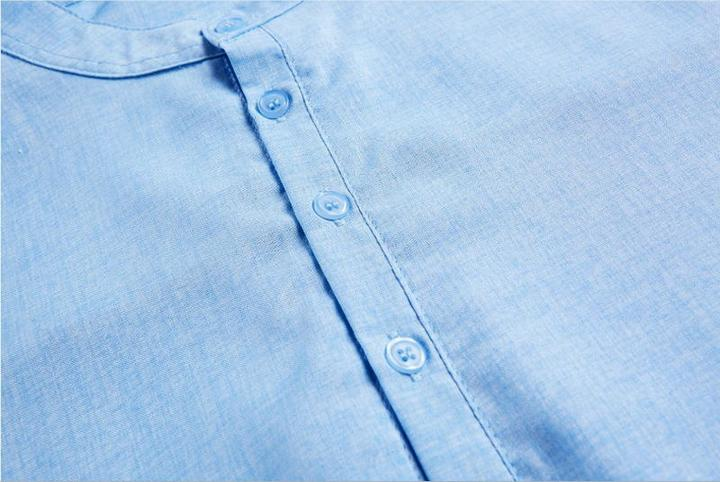 FASHION LINEN SHIRT (4 colors)