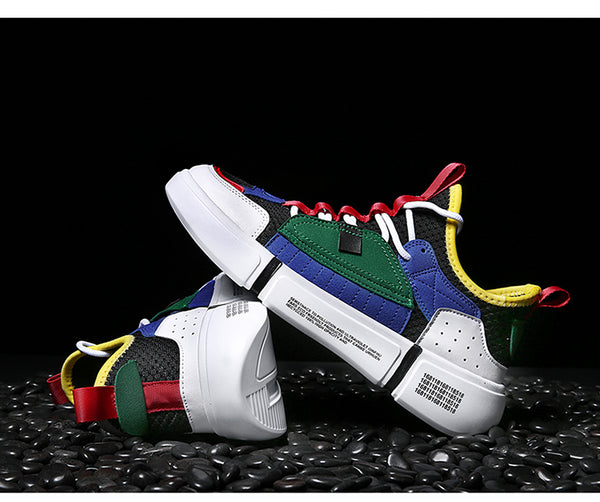 MULTICOLORED FASHION SNEAKERS (3 colors)