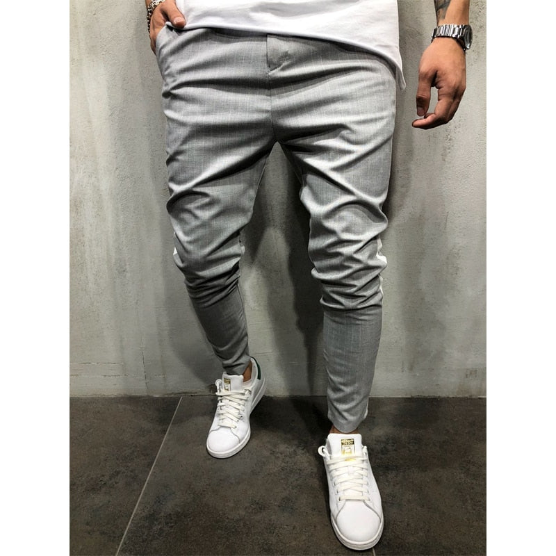 CASUAL STRIPED PANTS (6 colors)