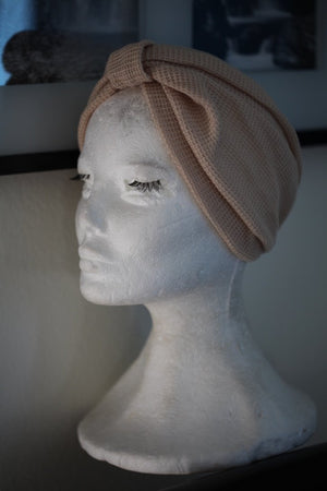 Fall Beige turban
