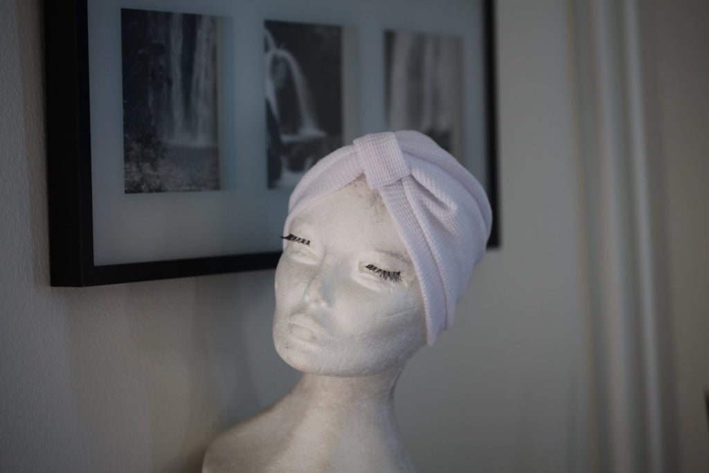 Fall White turban