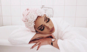 Pink Crystal SPA Turban