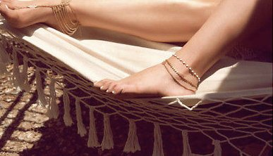 Golden Sun Ankle Bracelet