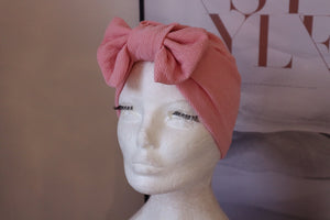 Happy Peach Turban