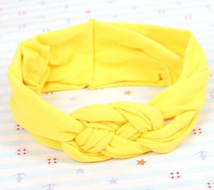 Kid Headband Yellow