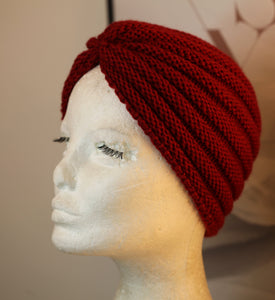 Red Winterland Turban