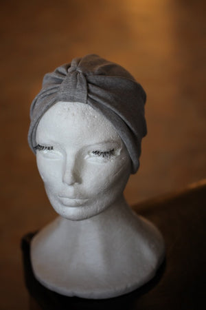 Grey Cotton turban