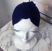 Load image into Gallery viewer, Winter Blue Brave Turban