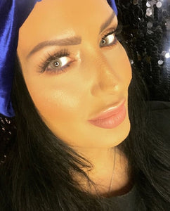 Sparkle Blue turban