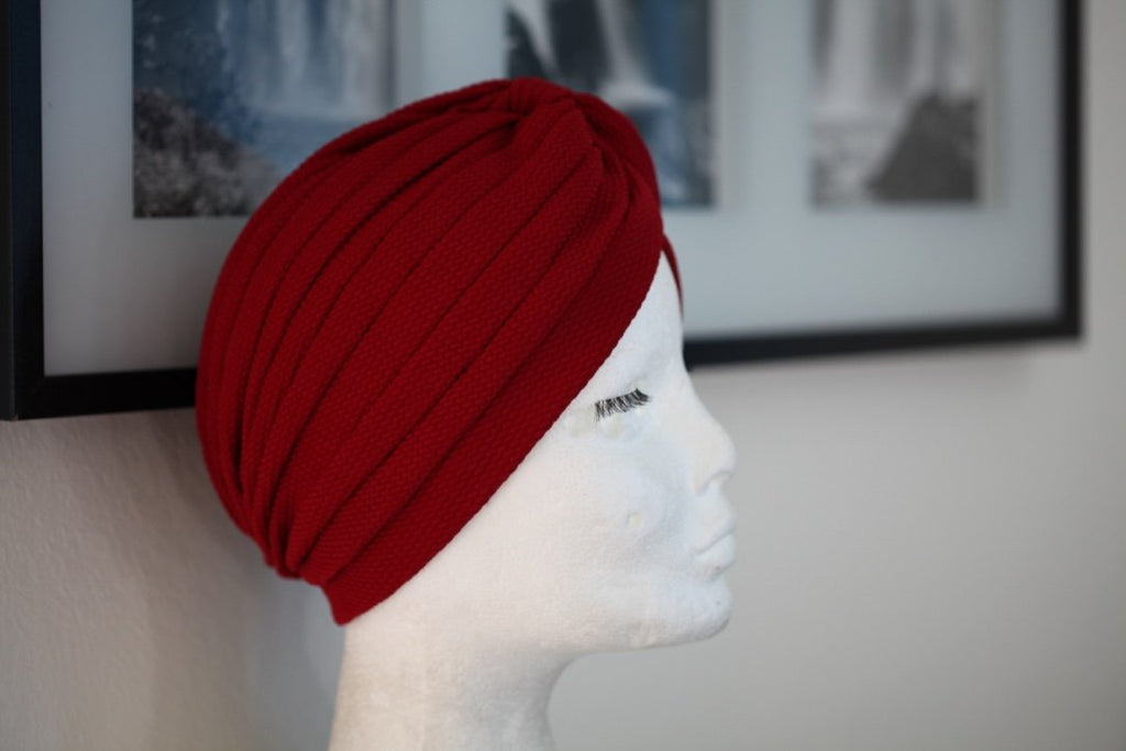 Chique Red turban