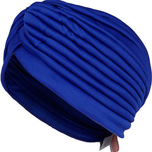 Indigo blue turban