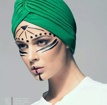 Load image into Gallery viewer, Green turban
