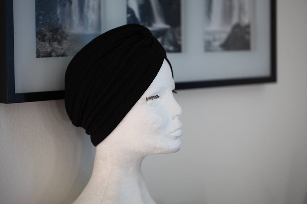 Chique Black turban