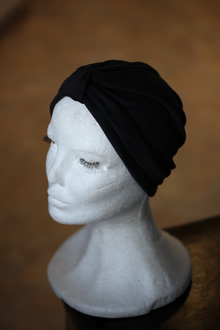 Black Cotton turban
