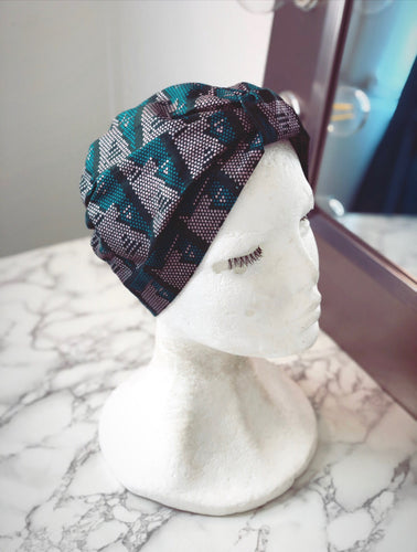 Exotic Patterned Turban