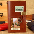 SDN018 (JD115) - Dad To Son - Wherever Your Journey - Vintage Journal -  Soldier Notebook