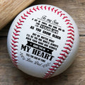 (BB02) BAB006 - Dad To Son - As You Grow Older - Baseball Ball