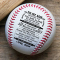 (BB03) BAB007 - Mon To Son -  Believe in yourself - Baseball Ball