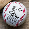 (BB05) BAB001 - Dad To Son - Your Way Back Home - Baseball Ball