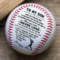 (BB35) BAB022 - Mom To Son - Never Lose - Baseball Ball