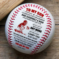 (BB77) - BAB070 - Dad To My Son - And Suddenly A Man - Baseball Ball