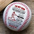 (BB81) - BAB073 - Dad To My Son - And Suddenly A Man - Baseball Ball
