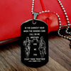 Engrave PLD004 - Call On Me Brother - Black - Police Dog Tag