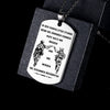 Engrave SDD002 - Call On Me Brother - German - Soldier Dog Tag