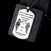 Engrave SDD003 - Call On Me Brother - French - Soldier Dog Tag