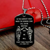 Engrave SDD004 - Call On Me Brother - English - Black - Soldier Dog Tag