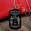 Engrave SDD005 - Call On Me Brother - German - Black - Soldier Dog Tag
