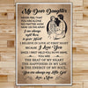 FM018 - My Dear Daughter - The Beat Of My Heart - The Happiness In My Life - The Energy Of My Soul - Family Poster
