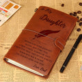 FMN012 (M2) - Dad To Daughter - Wherever Your Journey - Vintage Journal - Family Notebook