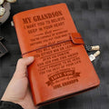 FMN052 (JD71) - Grandpa To Grandson - Love You - Vintage Journal - Family Notebook