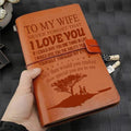 FMN079 (JD150) - To My Wife - I Love You - Vintage Journal - Family Notebook