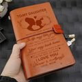 FMN114 (JD216) - Mom To Daughter - I Love You - Vintage Journal - Family Notebook