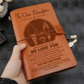 FMN127 (JD240) - Dad & Mom To Daughter - Your Way Back Home - Vintage Journal - Family Notebook