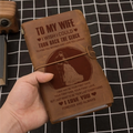 FMN181 (JT131) - Husband To Wife - Turn Back The Clock - Vintage Journal - Family Notebook