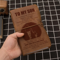FMN195 (JT160) - Dad To Son - More Than You'll Ever Know - Vintage Journal - Family Notebook
