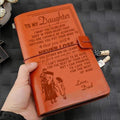 KTN002 (JD54) - Dad To Daughter - Never Lose -Vintage Journal - Knight Templar Notebook