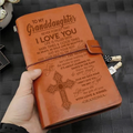 KTN012 (JD100) - Grandma To Granddaughter - Never Forget That - Vintage Journal - Cross Notebook