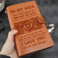 VKN021 (JD133) - To My Wife - Turn Back The Clock - Vintage Journal - Viking Notebook
