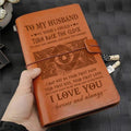 VKN028 (JD148) - To My Husband - Turn Back The Clock - Vintage Journal - Viking Notebook