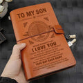 VKN039 (JD201) - Dad To Son - Your Way Back Home - Vintage Journal - Viking Notebook