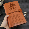 WRN004 (JD95) - Spartan I Choose - Vintage Journal - Warrior Notebook