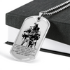 Knight Templar - IF - Show No Mercy - Military Ball Chain - Luxury Dog Tag